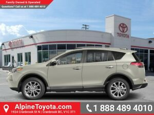 2018 Toyota RAV4 AWD Limited  - Navigation -  Sunroof