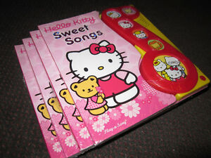 Hello Kitty Sweet Songs Play-a-Sound [Board book] - NEW - $5.00 Kitchener / Waterloo Kitchener Area image 8