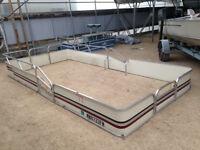 pontoon parts: fencing, seats, etc