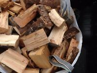 Ready to burn dry fire wood logs . Free local delivery
