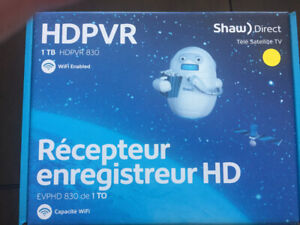 New Shaw direct HDPVR Receiver tv