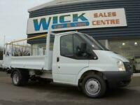 02ba12ac55 2014 Ford TRANSIT 350M DRW 100ps TIPPER  LOW MILES  Manual Tipper
