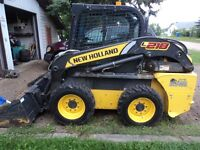 new holland skid steer  L 218