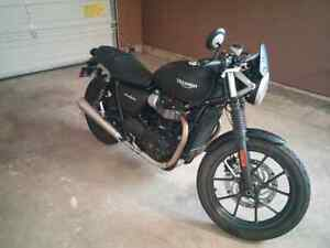 2016 Triumph Street Twin / would trade for thruxton 900