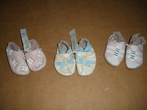 Three Pairs Robeez  Size Infant
