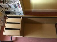 Office desk with 3 drawers