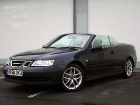 2006 (56) SAAB 9-3 LINEAR CONVERTIBLE 2.0T AUTOMATIC, 12 MONTHS MOT, 6 WARRANTY