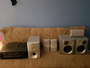 Kenwood receiver and Panasonic 5.1 speakers