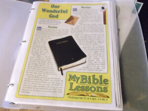 My Bible first Lessons