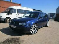 VOLKSWAGEN GOLF 1.9 GT TDI PD 150 BHP LONG MOT