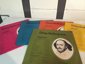 Living Shakespeare - Vinyl Records and Play Set London Ontario image 2