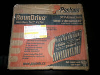 Paslode .120 DIA X 3 1/4 Round Drive With Tuff Tape Box Of 3000