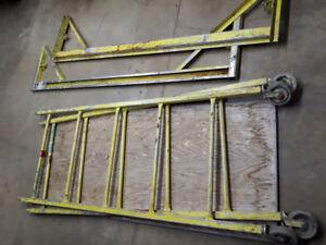 6' Steel Rolling Scaffold H-3800