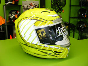 ICON - Airmada - Volare High Viz Helmet - Small fit at RE-GEAR