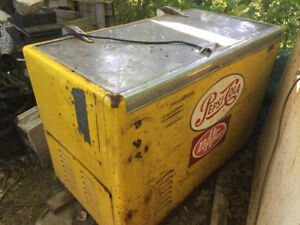 60'S style Pepsi Cooler!