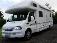 Fiat DUCATO 2.8 td Bessacarr E765,6 birth 2 fixed double beds 2 seatbelts 2006