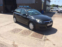 2005 55 VAUXHALL ASTRA 1.6 16V AUTOMATIC,ONLY 72000 MILES WARRANTED