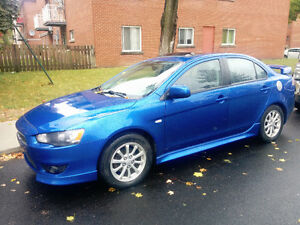 2011 Mitsubishi Lancer GT Manual
