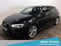 2013 AUDI A3 2.0 TDI S Line Leather Bluetooth GBP20 Tax 1 Owner