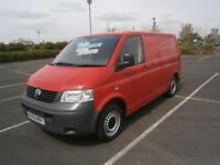 2009 59 VW VOLKSWAGEN TRANSPORTER 1.9TDi PD 85PS SWB T28 T5 AIR CON TAIL GATE