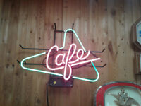 Neon Cafe Sign Oakville / Halton Region Toronto (GTA) Preview