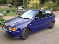 1996 Volkswagen Polo 1.4 CL 10 months mot ideal runaround bargain