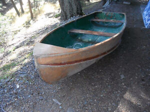 Vintage Row Boat For Sale (also set up for outboard motor)