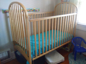 $100 Solid Wood Crib For Sale