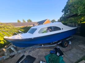 Shetland fishing boat for sale