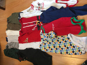 Baby boy clothing lot 73 pieces $35