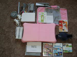 Nintendo Wii Console, Balance Board, Accessories & Games