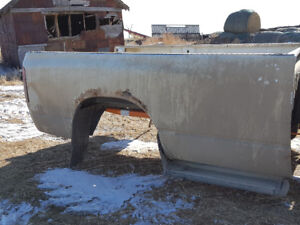 Dodge Ram Truck Long Bed with Mud flaps and Steps
