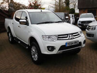 2014 64 Reg Mitsubishi L200 2.5DI-D CR Double Cab Pickup Warrior (19000 Miles)