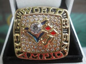 1993 toronto blue jays world series replica ring
