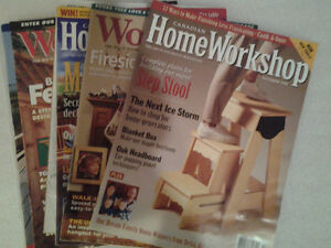 Canadian Woodworking Magazines & Country Furniture Book