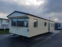 2011 static caravan for sale right on the North Wales coast !!