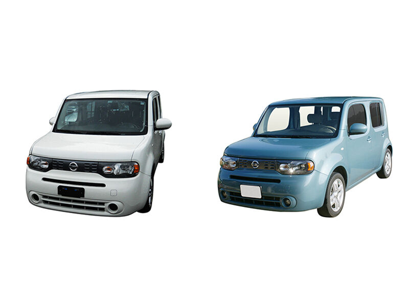 nissan cube s vs nissan cube sl ebay. Black Bedroom Furniture Sets. Home Design Ideas