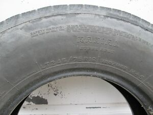 245 - 75R - 16 tire for sale. Belleville Belleville Area image 4