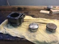 2004/05 honda 450r cylinder and pistons