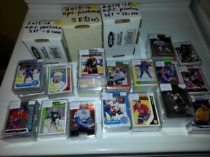 cartes hockey, football, basketball, baseball