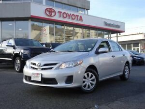 Toyota Corolla CE 4 Door Manual 2013