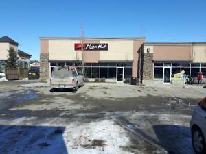 Restaurant/ retail space for lease in Okotoks