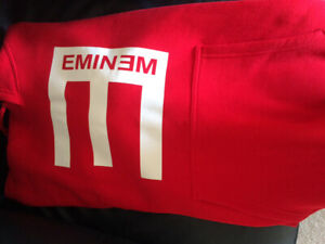 EMINEM Red or Black Hoodies, XL