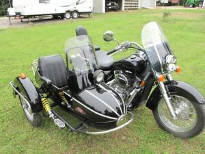 Honda Shadow Areo with Sidecar