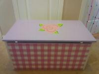 Child Toy Box, bedside table shelves Set