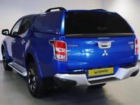 2017 Mitsubishi L 200 Double Cab DI-D 178 Warrior 4WD Diesel blue Manual