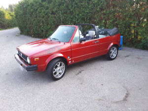 Looking to trade my 1987 Volkswagen Cabriolet for a bug