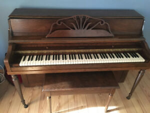 Mozart Verticle Piano sold PPU