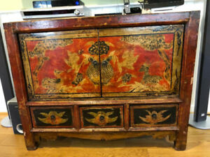 Antique Asian (Chinese) rare furniture pieces for sale