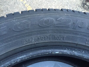 235 60 R17 winter tires